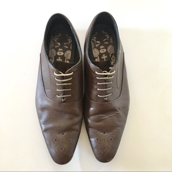 cf6b86c2d ... Ted Baker Shoes Brown Leather Oxfords Poshmark